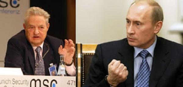 O Πούτιν… Πέταξε Έξω από τη Ρωσία τον τοκογλύφο της Νέας Τάξης, Σόρος