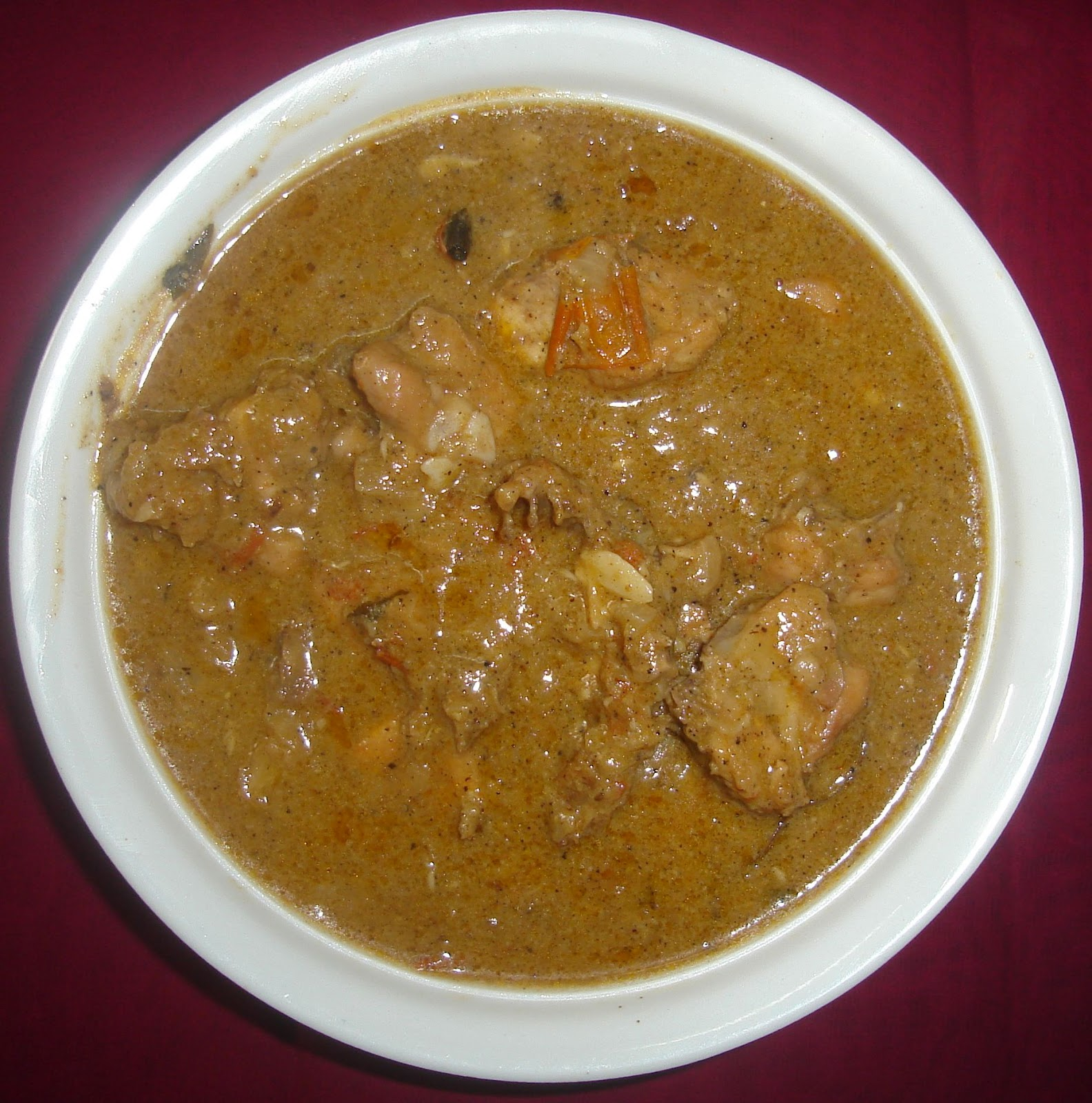 ... : Chettinad Milagu Kozhi Kuzhambu (Chettinad Pepper Chicken Gravy