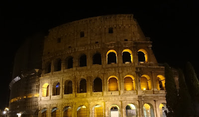 Roma por la noche