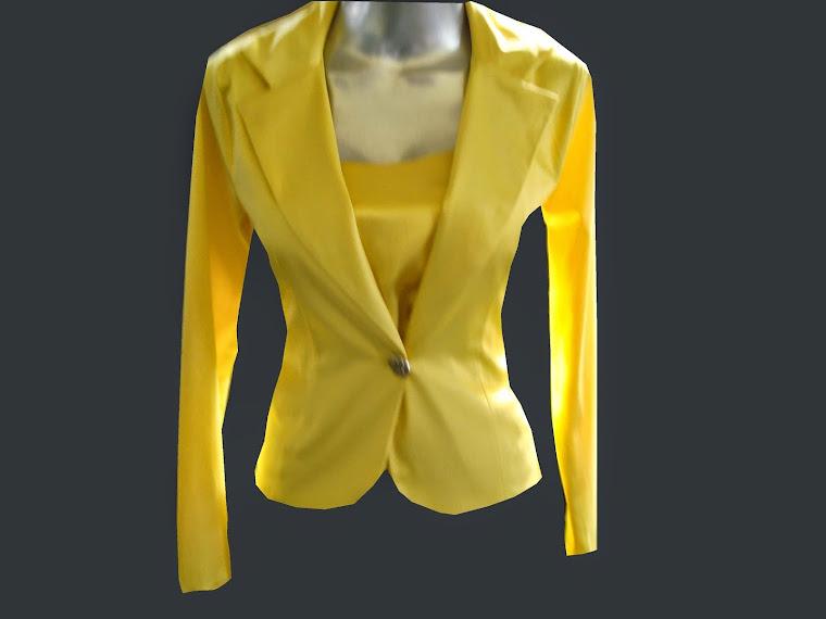 casaco de sarja acetinada