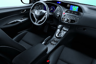 The Real Otomotif 2011 Honda Civic Interior