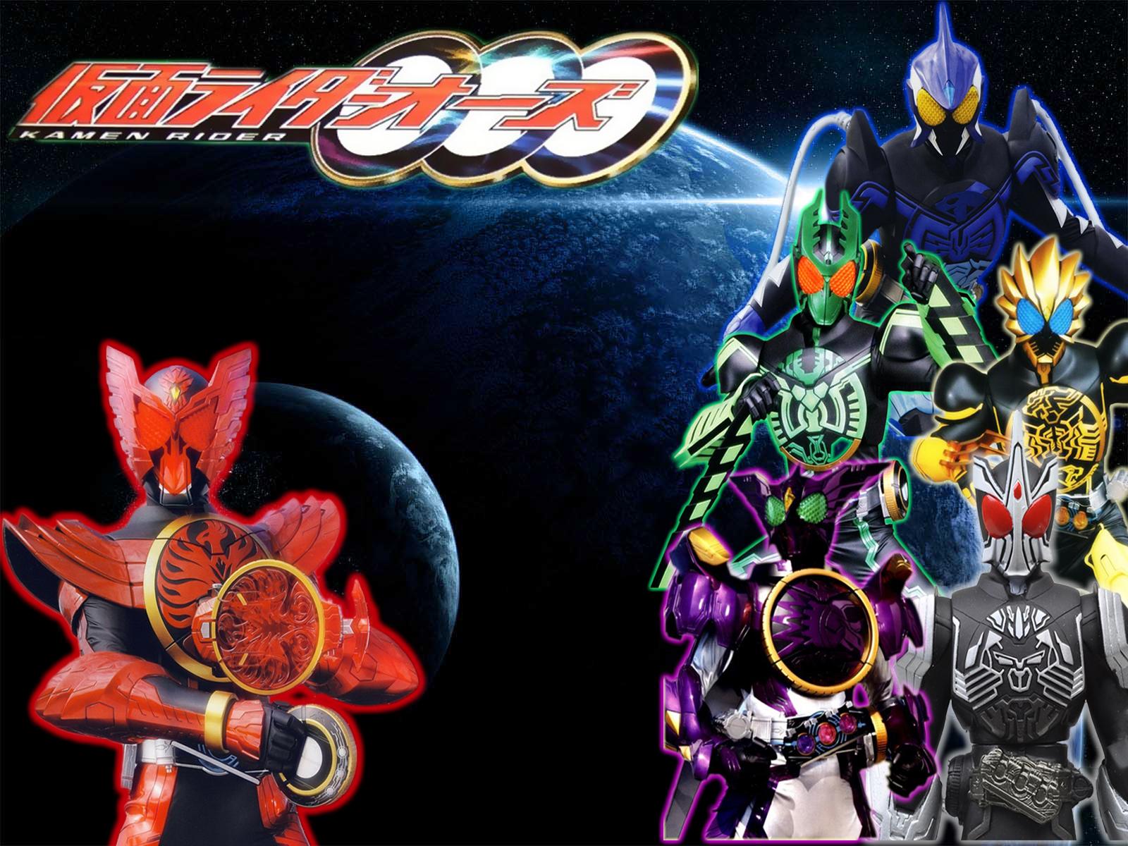 Kamen rider ooo single