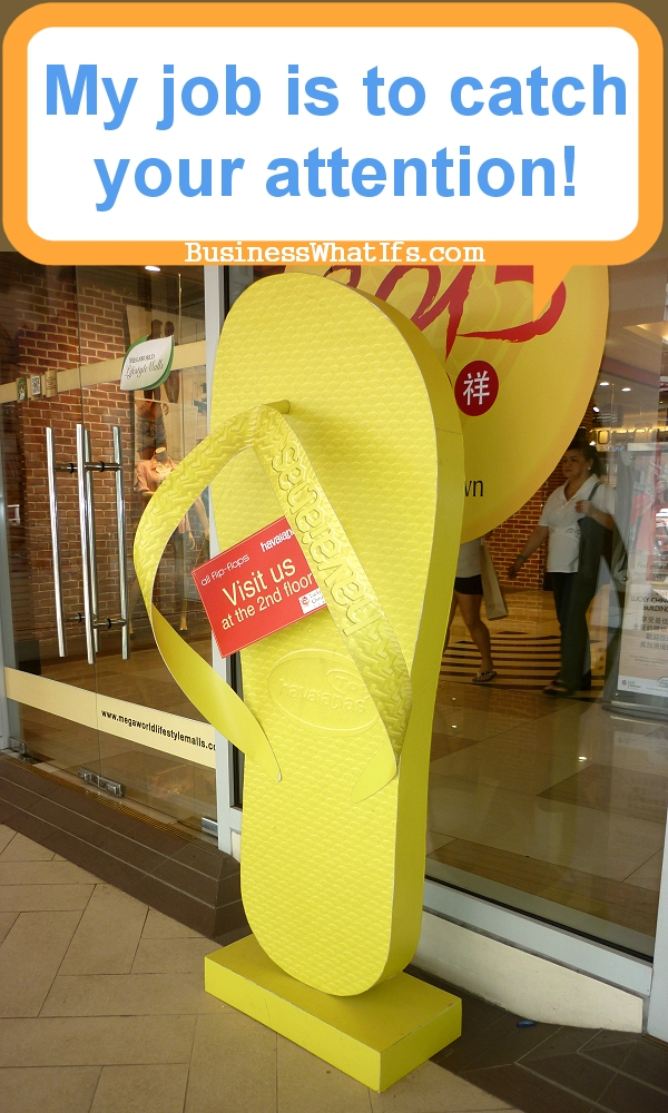 Havaianas Huge Three-dimensional Sign