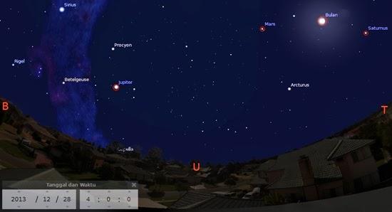 Lihat 3 Planet Sekaligus di Langit Pagi