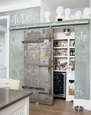 Sliding Pantry Track System Barn Door