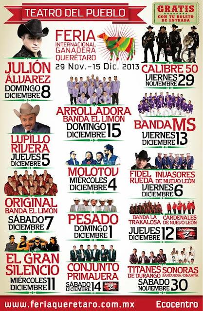 artistas teatro del pueblo feria querétaro 2013