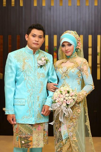 Kebaya pengantin muslim modern trend terbaru