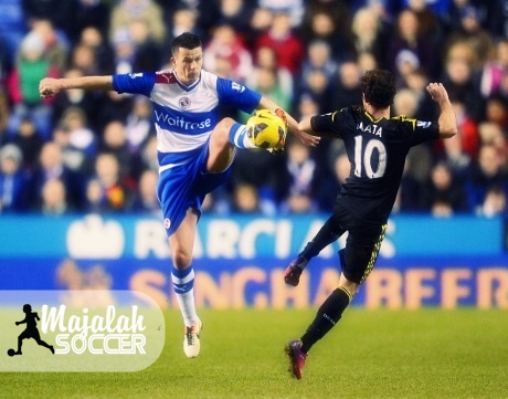 Hasil EPL : Reading Imbangi Chelsea 2-2