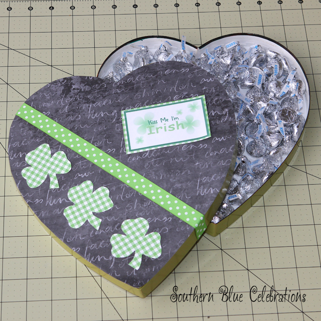 Southern Blue Celebrations: Kiss Me I'm Irish – Recycled Valentine ...