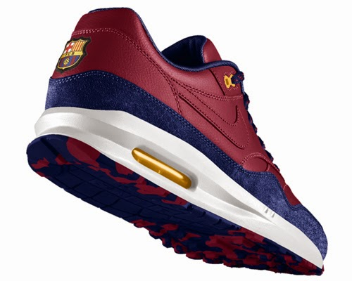 zapatillas deportivas escudo FC Barcelona Nike Air Max 1 comprar