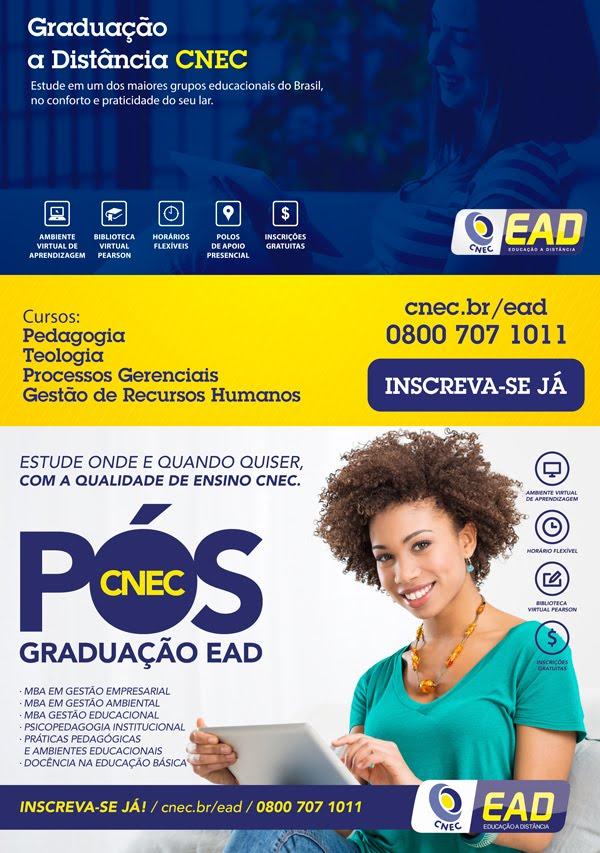 Nossa rede está Ofertando Graduação e Pós graduação na modalidade EAD
