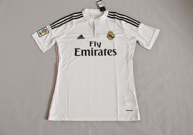 Kaos Bola Couple Jersey Bola Real Madrid Home Man 2015