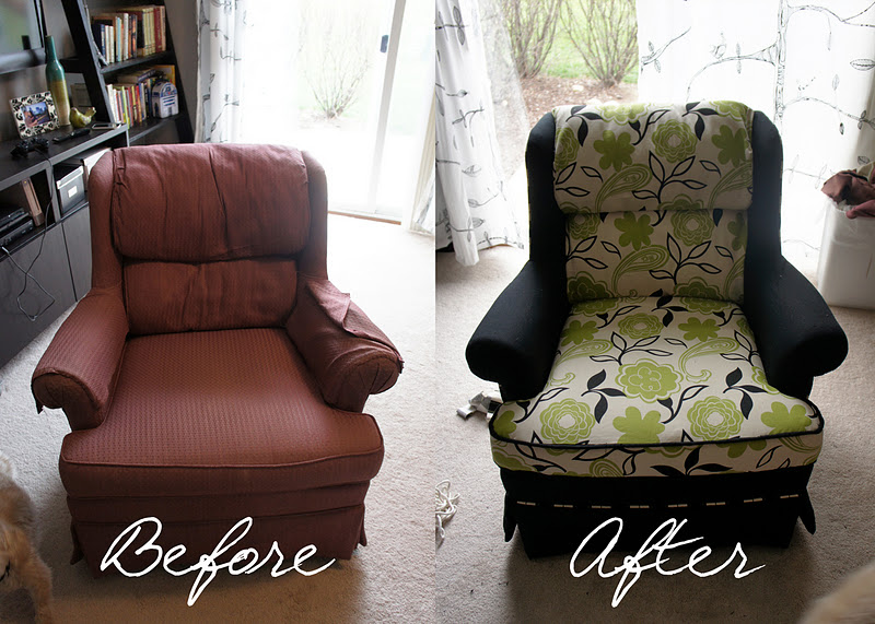I Cannot Believe How Someone   With What Sounds Like No Re Upholstery  Skills   Was Able To Create A Multi Fabric Job With Contrasting Trim! Wow.  So.