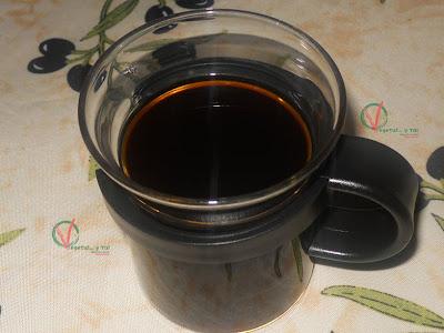 Taza de Café macerado en frío.