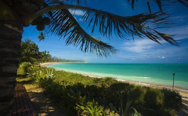 Bela praia de São Miguel dos Milagres