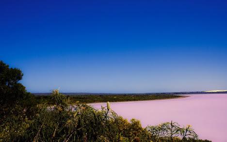 danau Hillier di Australia