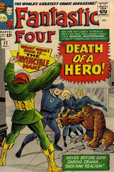 Fantastic Four #32, The Invincible Man