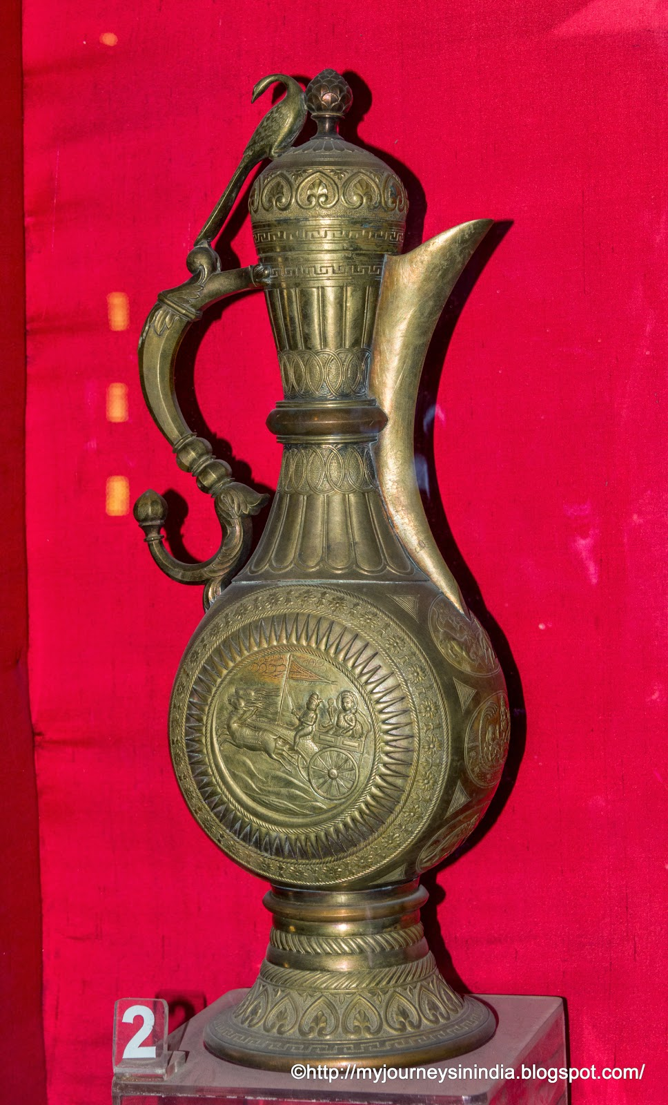 Yarkand Coffee Pot Albert Hall Museum Jaipur