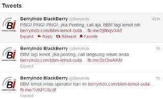 Blackberry Massenger Error