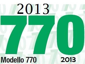 Scadenza presentazione mod 770 2013 for Scadenza modello 770