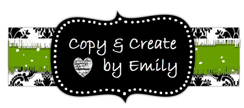 "Copy & Create by Emily- ""Favorites and Friends"""