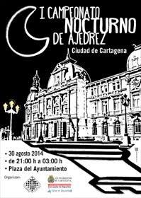 """I Torneo Nocturno de Ajedrez """"Ciudad de Cartagena"""""""