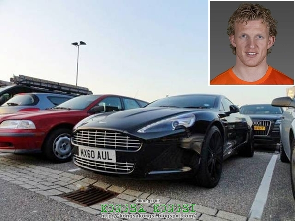 photo of Dirk Kuijt Aston Martin Rapide - car