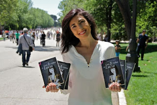Astrid Gallardo en la Feria del Libro de Madrid