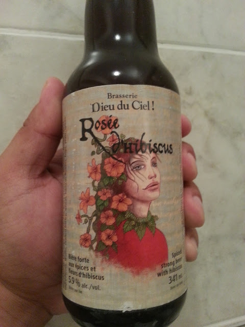 пиво Dieu du Ciel Rosee D'Hibiscus