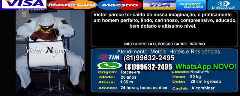 Victor Deus Negro o Melhor Garoto de Programa de Recife SÓ PARA MULHERES (81)99632-2495