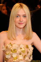 Dakota Fanning Alexander McQueen Savage Beauty Costume Institute Gala