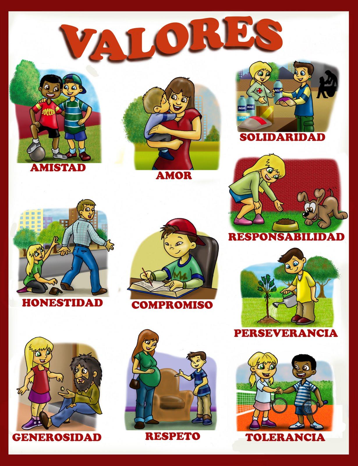 Imagenes De Los Valor ES