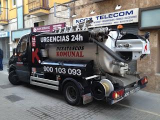 Limpieza de pozos negros en Barcelona