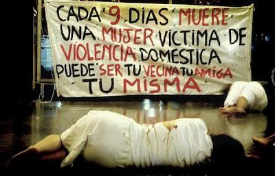 imagen mujer+violencia