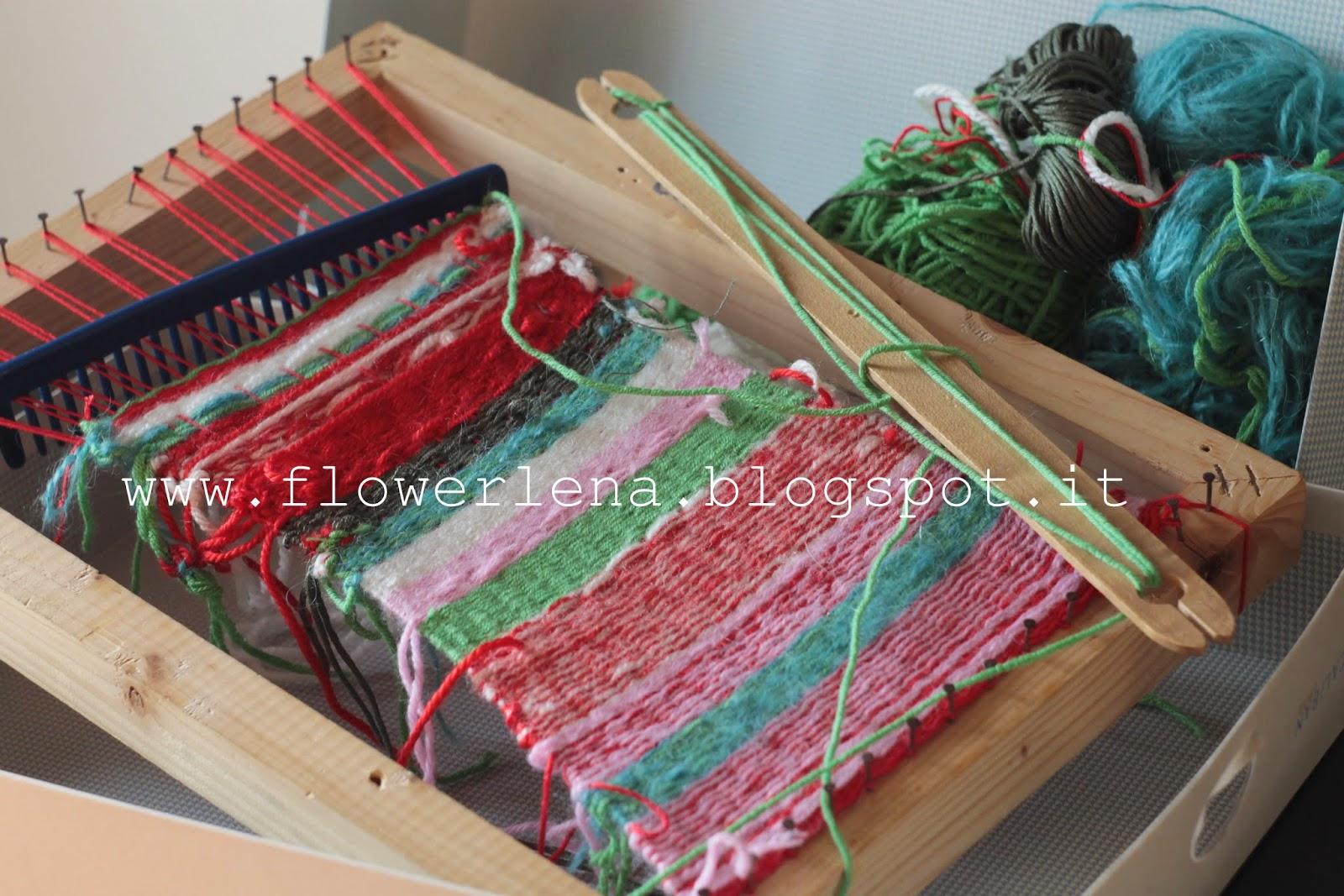Alta priorit il telaio di legno per bambini - Telaio da tavolo per tessitura a mano ...