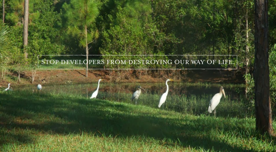Stop overdevelopment in the Acreage and Loxahatchee