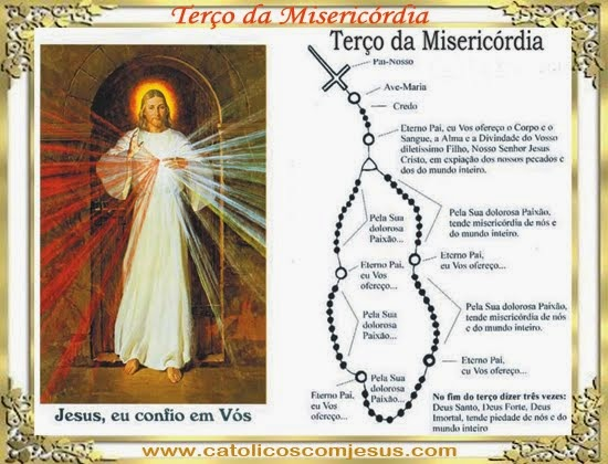 Terço da Misericórdia - Irmã Faustina