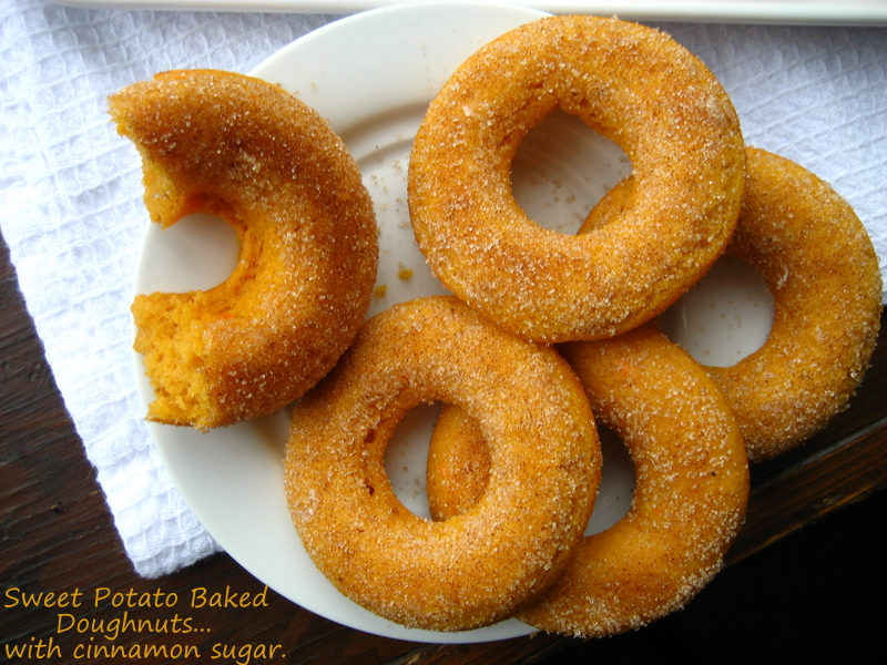 Home Cooking In Montana: Sweet Potato Doughnuts...