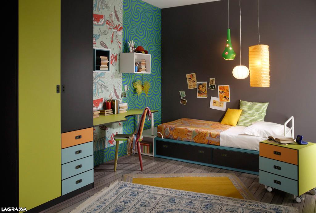 Dormitorios juveniles a medida - Decoracion paredes habitaciones juveniles ...