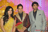 Celebraties at Actor Bharat n Jessy Wedding Reception Photos+%2528113%2529 Actor Bharath n Jessy Wedding Photos