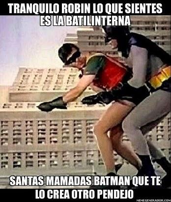Santas mamadas Batman