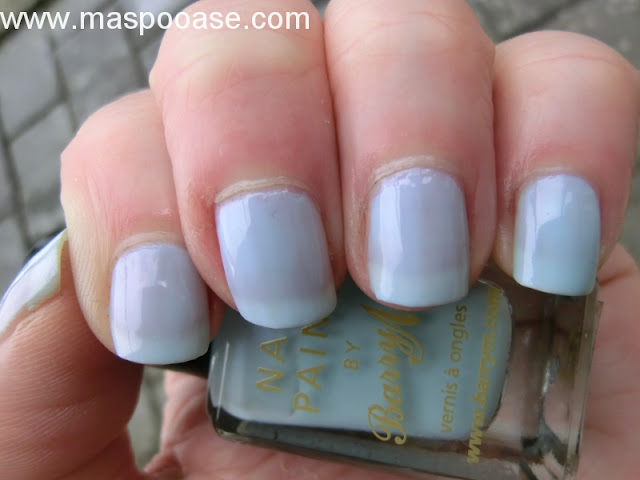 Barry M 317 Blue Moon Swatch