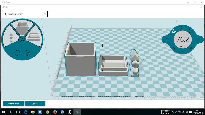 APLIKASI BARU! 3D BUILDER