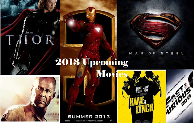 Best Movies 2013: Upcoming SciFi Movies Release Date, Trailers and Posters