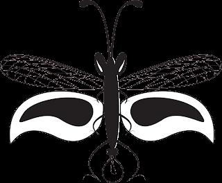 Firefly Icon Eileen Gano Vector Black & White