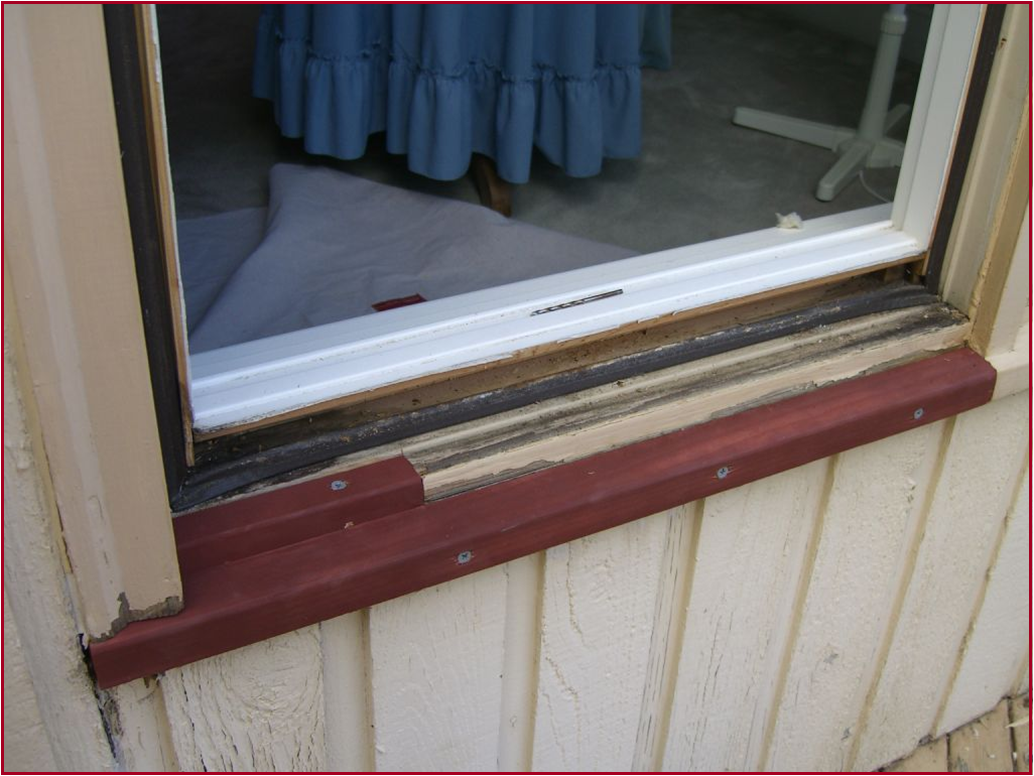 Weathervane window rot repair redmond woodinville for Window sill replacement