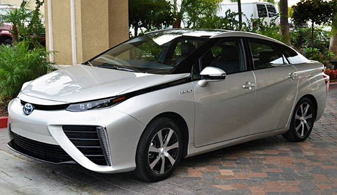 la toyota mirai premi re voiture pile combustible sur le march techno is good. Black Bedroom Furniture Sets. Home Design Ideas