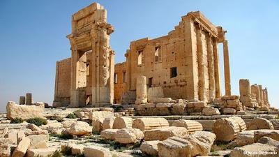 Καταστράφηκε μέρος του τείχους της αρχαίας πόλης του Χαλεπιού