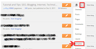 how to remove blogger navbar