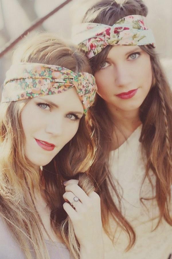 Floral Turban Headbands